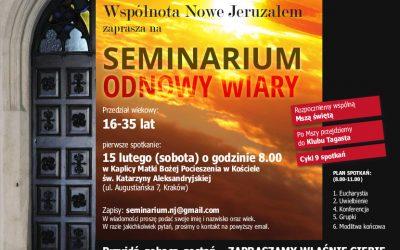 Seminarium Odnowy Wiary – Nowe Jeruzalem